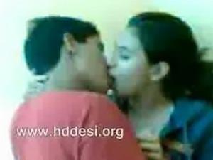 Indian Bangla College Boy and Girl Kissing