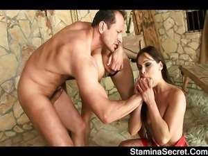 Black-haired babes getting anal fuck