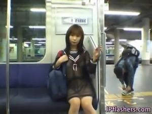 Mikan Lovely Asian schoolgirl free