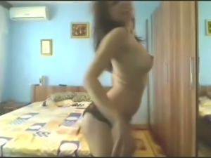 Hot bollywood dance and strip on webcam