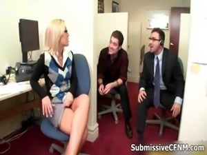 Two hot and perverted office girls part5