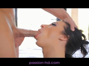 Passion-HD Hot Brunette Wet and Horny