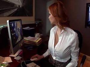 Tarra White got her ass fucked by boss