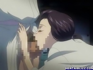 Bondage Japanese hentai gets shoved wetpussy