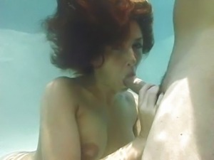 Isabella Soprano - Underwater Blowjob part 2