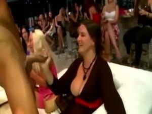 Check cfnm real bitch get a facial free