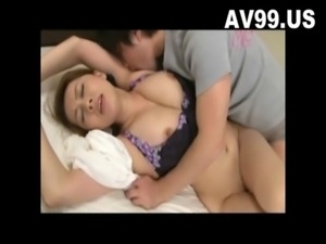 Sexy Big Tit Japanese Housewife ... free