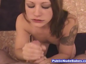 Hotel Shower Room Blowjob