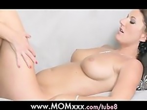 MOM Busty mature women lesbian experience