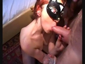 Amateur italian slut takes 4 cocks