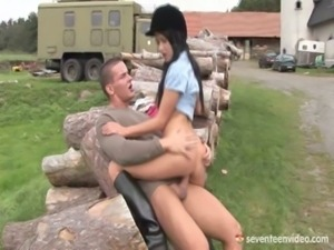 Angelica Fucks Her Riding Instructor free