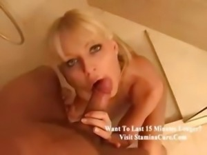 Blond oral sex