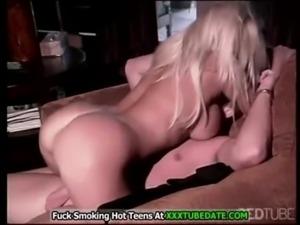 Beautiful big tits blonde fucked well free