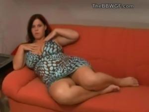 Chubby BBW Ex Girlfriend playin ... free