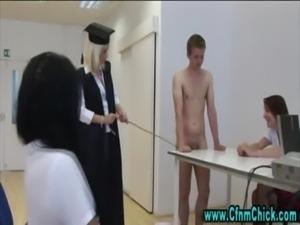 Cfnm group british  schoolgirls ... free