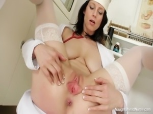 Naughty Head Nurse - Sabrina free
