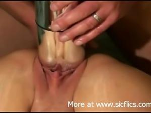Huge metal bullet vibe penetration