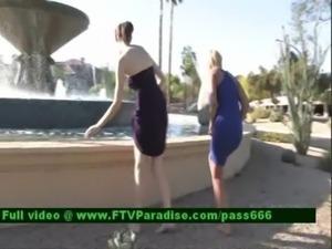Amazing Gorgeous Naked Babes In Public free