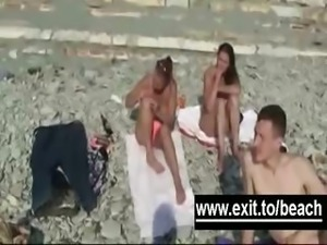 Secret Amateur Nude Beach Footage