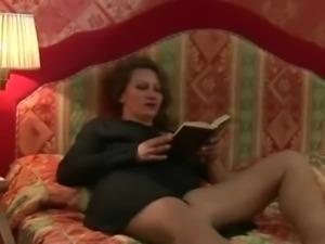 Hairy Bush Mature Russian MILF and Boy free