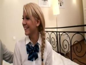 Blonde Schoolgirl free