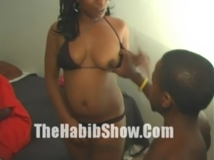 Midget with 12 inch Dick Fuck Stripper Booty free