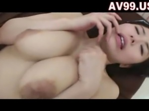 Mosaic; JAPANESE BIG TITS FUCK - Asian sex video