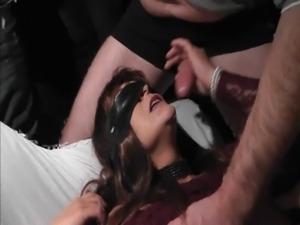 Slutwife gets 47 cumshots free