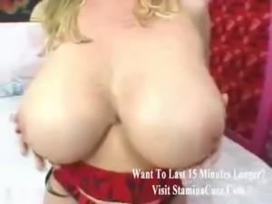 Big tits and sexy boots on milf slut free