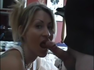 Amateur Tattooed Blonde Gets Cock free