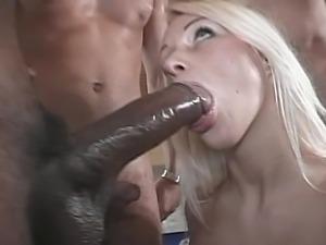 Blonde In Orgy