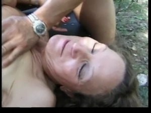 French mature anal outdoor - Christiane Gonod free