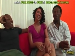 Isabella Amour Gets Her First Taste Of Black Dick free