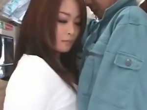 Sexy girl japanese honey nailed in public sex 37