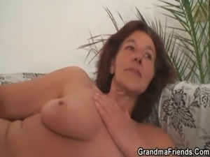 Old bitch gets banged by two young painters free