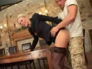 German Milf Gets Screwed By Employee free