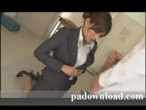 Padownload.com - Asian threesome facial free