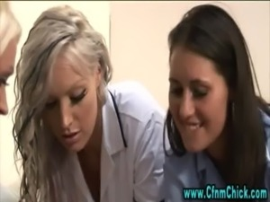 Slutty cfnm fetish nurses free