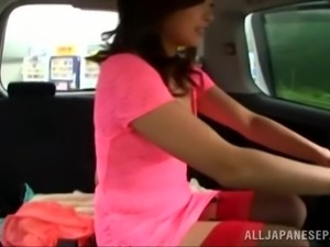 japanese slut taking a ride
