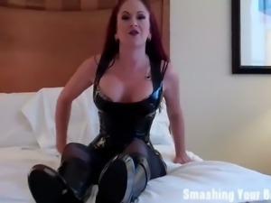 Wild mistresses bust your balls
