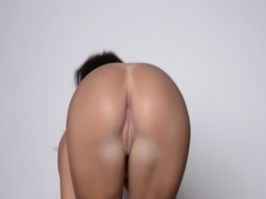 Sexy dance and strip of attractive babe free