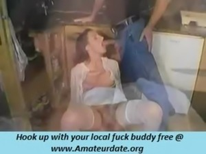 so pretty brunette milf hairy pussy wife make a hot homemade sex fun enjoy free