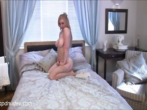 Sexy British model Lucy Alexandra at APDNUDES.COM flirting with the camera...