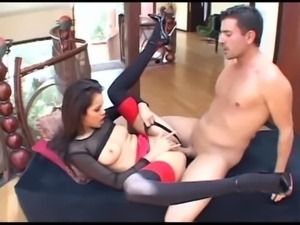 Daisy fucking in thigh high stockings and panties free