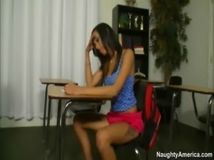 skinny latina gets ass fingered by horny teacher free