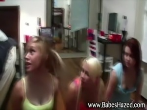 College teens naked college hazing free