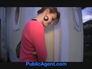 PublicAgent Meggie seetles for Sex for Cash behind the church free