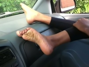 Indian foot fetish- Sexy feet, soles & toes rubbing my cock