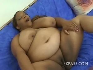 Man satisfying hot chubby free