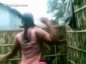 South Indian neighbor aunt caught full nude changing dress